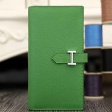 Hermes Bamboo Epsom Bearn Gusset Wallet