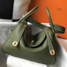Hermes Canopee Clemence Lindy 30cm Bag with GHW