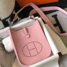 Hermes Pink Evelyne II TPM Messenger Bag