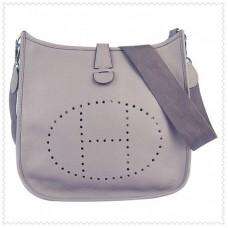 Hermes Evelyne III Bag Grey